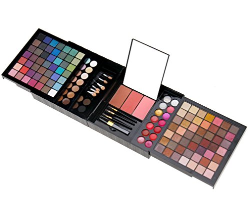 Preisvergleich Produktbild 177 Farben Lidschatten Makeup Set Concealer Rouge Lipgloss