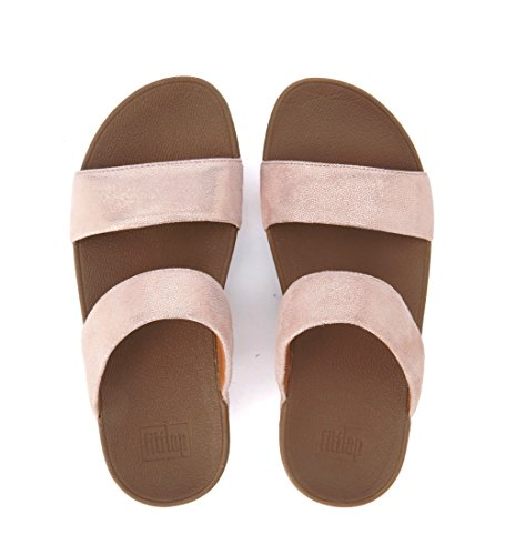Sandalo FitFlop rosa in camoscio Rosa