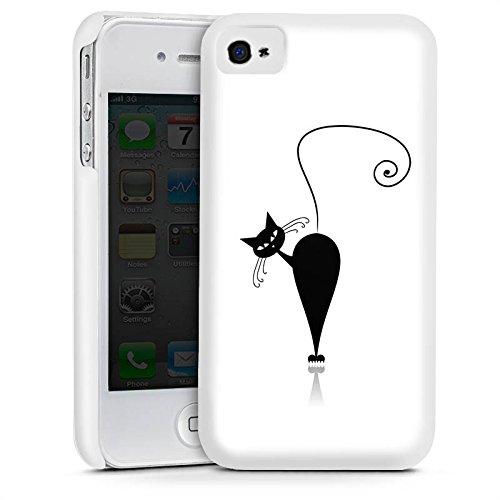 Apple iPhone 5s Housse Étui Protection Coque Chat Chat Chaton Cas Premium mat