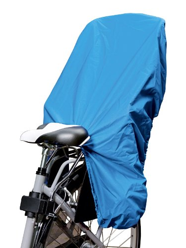 TROCKOLINO Regenschutz für Fahrrad-Kindersitz - blau