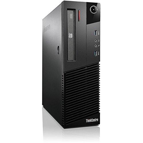 Lenovo ThinkCentre M93p SFF Intel Core i7 240GB SSD Festplatte 16GB Speicher Win 10 Pro DVD Brenner 10A8S07W00 Mini PC Desktop Computer (Generalüberholt) (Lenovo I7-desktop)
