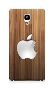 Amez designer printed 3d premium high quality back case cover for Xiaomi Mi 4 (Beautiful Apple)