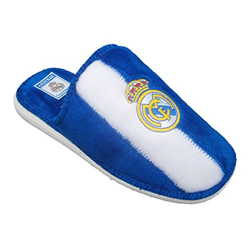 Tipo scarpe pantofola del Real Madrid Andinas bianco taille 47
