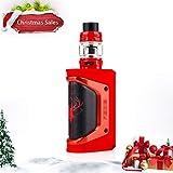 Geekvape Aegis Legend mit Alpha Tank (Metallausgabe) Kit Weihnachtsversion ohne Batterien, keine E-Flüssigkeit, keine Nikotin (Rot schwarz)