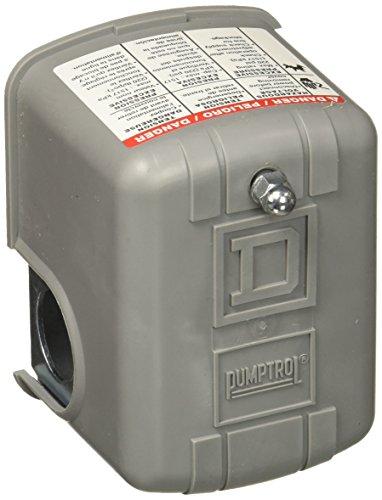 Quadratisch D 9013fsg230/50Schalter Schneider Electric 30–50Psi pumptrol Wasser Druck Schalter