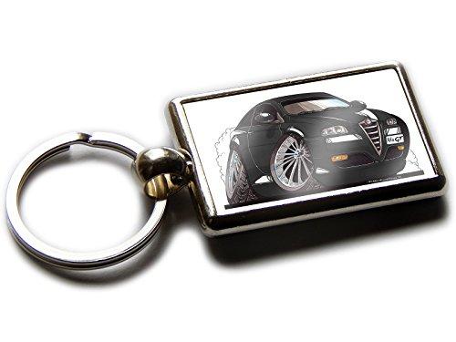 alfa-romeo-gt-voiture-de-sport-officielle-koolart-porte-cles-chromee-de-qualite-photo-les-deux-cotes