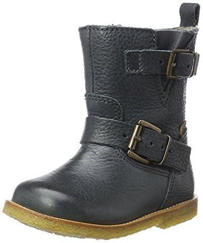 Bisgaard Unisex-Kinder Stiefel, Grün (609-2 Petrolio), 35 EU