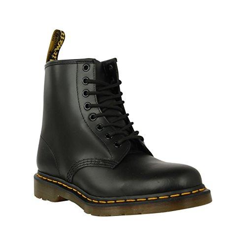 Dr Martens 1460 Stiefel 8 Eye Herren Smooth Ankle Schuhe, Casual Lace Up Schuhe Schwarz