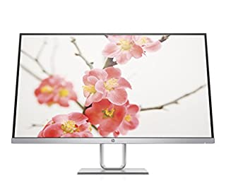 "HP Pavilion 27Q Monitor, 27"", QHD, Edge to Edge, AMD Freesync, con Tecnologia PLS, Argento (B075SV7P3Q) 