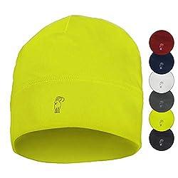 ALPIDEX Running Mütze Sportmütze Laufmütze Damen Herren Funktionsmütze One Size, Farbe:Neon Yellow