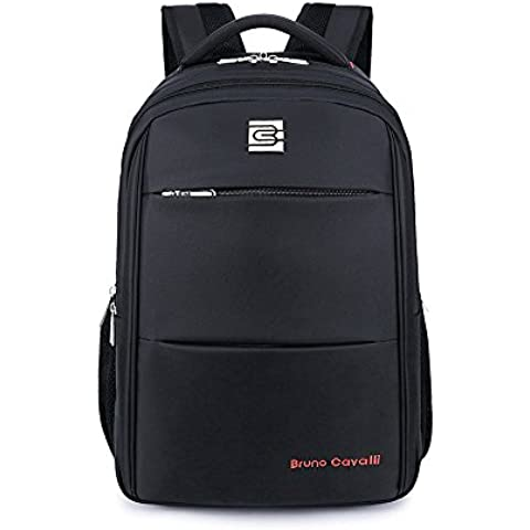 'evay aumentar 15,6administrarlos Laptop Mochila Impermeable y arañazos de desgarre rucksäck Daypack, negro, 17
