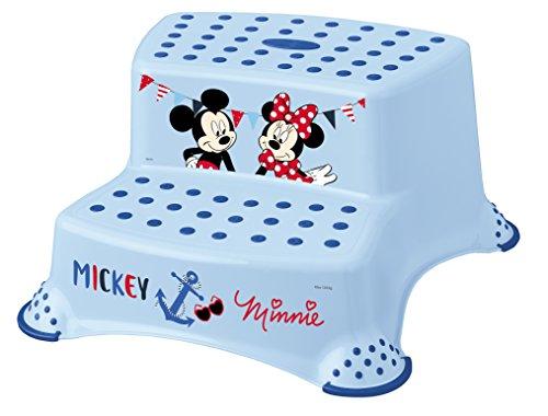 "keeeper 10032614046 igor \""mickey mouse\"" tritthocker zweistufig mit anti-rutsch-funktion light blue"