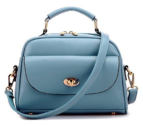 TianHengYi ,  Mädchen Tasche , blau - blau - Größe: S (Patent Alligator)