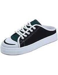 IANGL Flip Flops sin zapatos para mujeres en Baotou,38 menos de una yarda, negro