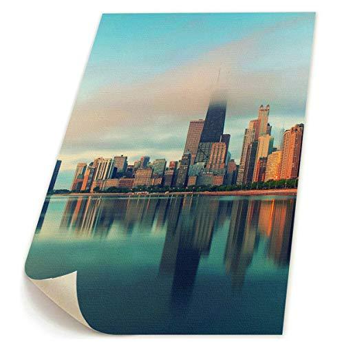 SDGYGSNi Chicago City Leinwanddrucke, abstrakte Pop-Art, lustige bunte -