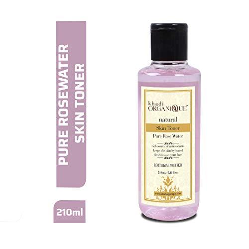 Khadi Organique Pure Rose Water Herbal Skin Toner-210Gms