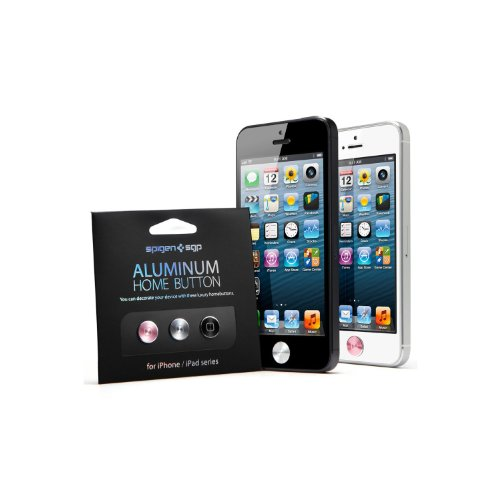 SPIGEN SGP09631 Aluminum Home Buttons for iPhone and iPad