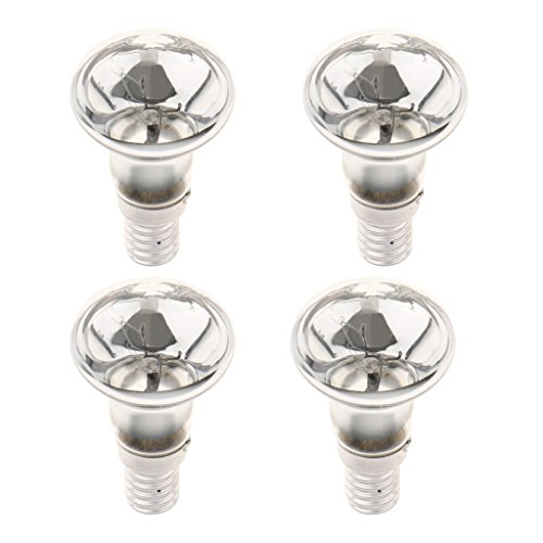 Gazechimp 4 Stücke 30 Watt R39 Reflektor Scheinwerfer Lampe Lava Lampe Glühbirne Kleine Schraube E14
