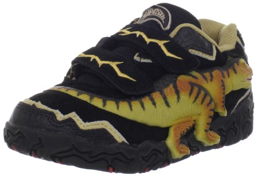 Dinosoles T-Rex, Unisex - Kinder Sneaker Schwarz (Black)