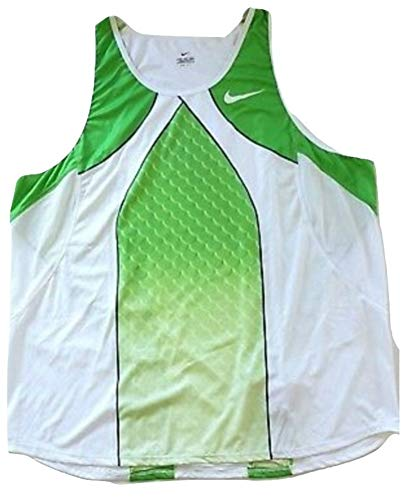 Nike Pro Elite Sponsored Pro Athlete Laufweste Racing Singlet Leichtathletik Herren Sport XXL