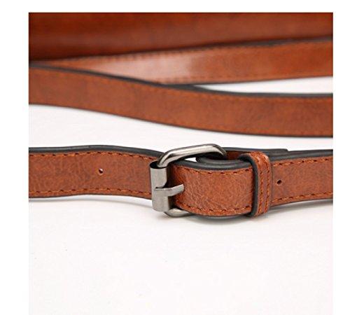Spalla Di Grande Capacità LAIDAYE La Signora Della Moda Messenger Bag Red