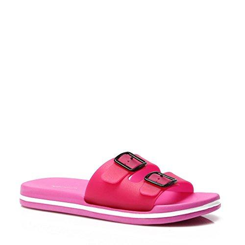 Schuhzoo , Sandales pour femme * * rose bonbon