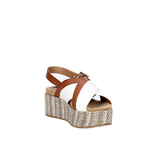 Wrangler WL171640 Sandale Femme Blanc