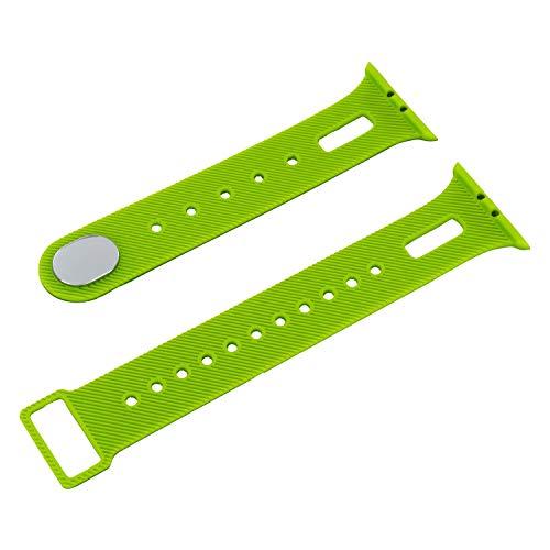 X-WATCH Smartwatch Wechselarmband für Keto XW FIT Fitnesstracker Damen und Herren Apple grün