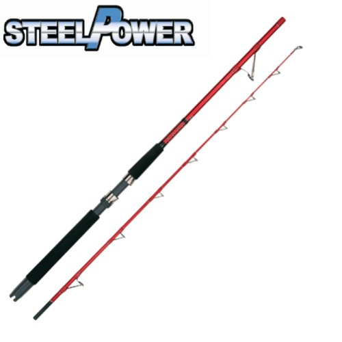 DAM STEELPOWER RED LIGHT BOAT 50LBS 1.80M POWER TIP Bootsrute