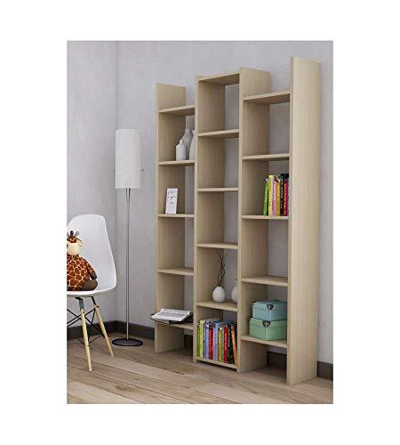 Libreria 3 colonne olmo 180 h cm