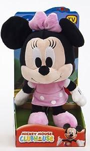 Mickey & Friends 900192 - Minnie de Peluche con Cabeza Grande 25 cm