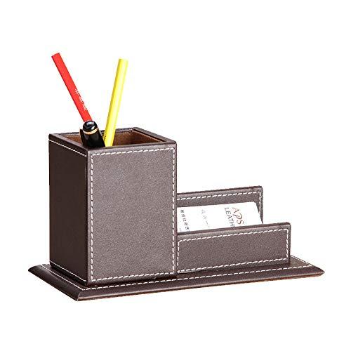 Office care portapenne multifunzione da ufficio in pelle porta business, porta penne multifunzione, caffè