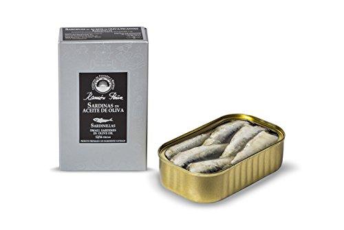 RAMON PEÑA - Sardine in olio d'oliva 12/16 RR125 confezione 4 unità