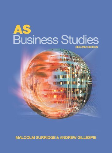 AS Business Studies Second Edition by Andrew Gillespie (2004-07-30)