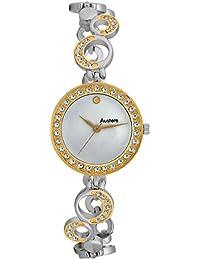 Austere ELLEN Analog Silver Dial Women's Watch - WEL-0107GS