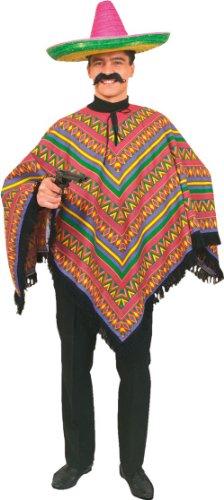 Poncho Mexikaner Herrenkostüm KELLER 02650