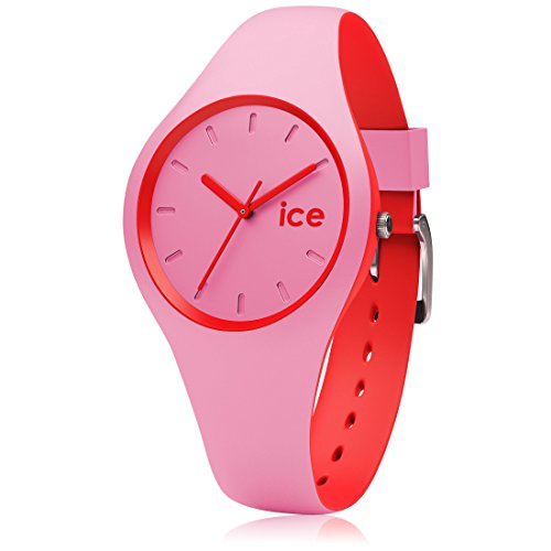 Ice-Watch - ICE duo Pink Red - Women's wristwatch with silicon strap - 001491 (Small)