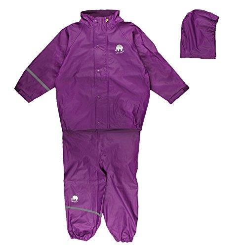 Celavi Kinder Mädchen Regen Anzug, Jacke und Hose, -