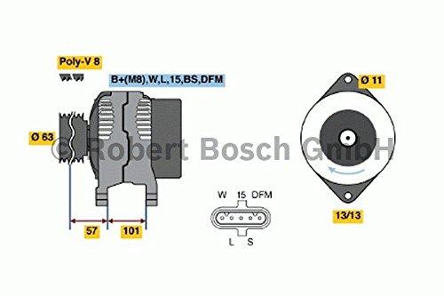 Preisvergleich Produktbild BOSCH 0986046290 Generator