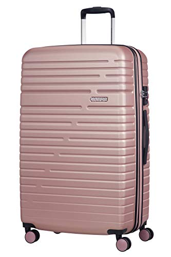 American Tourister Aero Racer Spinner 79 Expandable - 4.5 Kg Bagaglio a Mano 115 Liters, Rosa (Rose Pink)