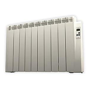farho Radiador Eléctrico Tessla 1250W Bajo Consumo • Emisor Térmico con Termostato Digital Programable 24/7