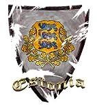 Wappen Estland, Designfolie Sticker Skin Aufkleber Schutzfolie mit Farbenfrohem Design für Playstation 4 CUH 1200