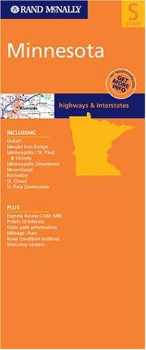 Minnesota State Map (Rand McNally Folded Map: States)