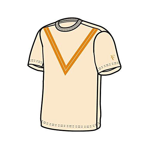 Nike Jungen Dri-FIT RF T-Shirt Guava Ice/(Orange Peel) M