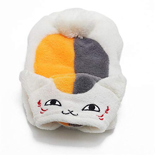 Für Halloween Damen Ideen Kostüm Einzigartige - Haustier Katze Hund Kleidung, Kostüm Kleid Korallenroter Samt Cartoon Kleidung mit Hut Warm und Gemütlich für die Halloween Weihnachtsfeier,Weiß,XS
