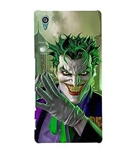 EPICCASE Villan Case Mobile Back Case Cover For Sony Xperia Z5 Premium / Z5 Plus (Designer Case)