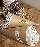 50 Cucuruchos para bodas Personalizados