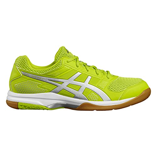 Asics Gel-Rocket 8, Chaussures de Volleyball Homme vert