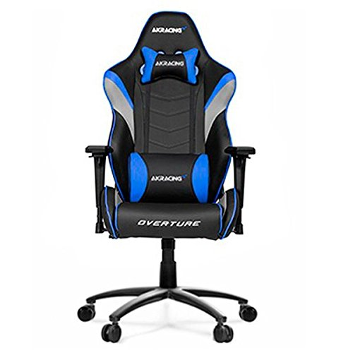 AKRacing Overture – AK-OVERTURE-YL – Silla Gaming, Color Negro/Amarillo