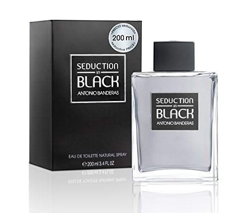 Antonio Banderas Seduction in Black Eau De Toilette 200 ml (man) -
